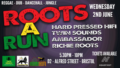 Roots A Run at Dare to Club in Bristol