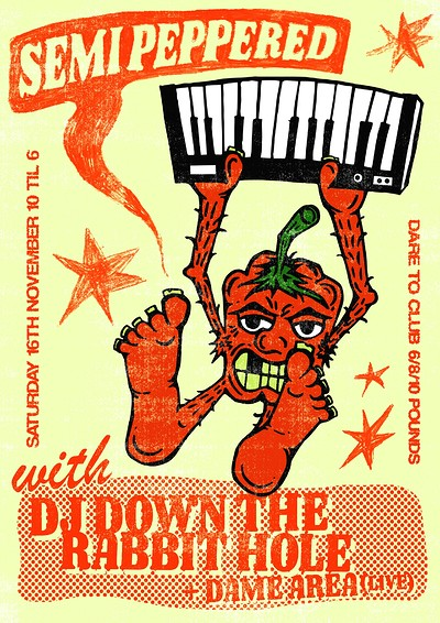 Semi Peppered w/ DJ DTRH, Dame Area, Donnagan at Dare to Club in Bristol