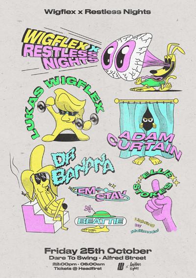 Wigflex x Restless Nights Take Over at Dare to Club in Bristol