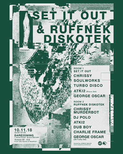 Set It Out & Ruffnek Diskotek Present: Chrissy at Dare To Swing in Bristol