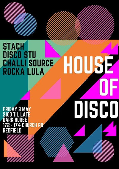 House of Disco at Dark Horse, Church Road, Redfield in Bristol