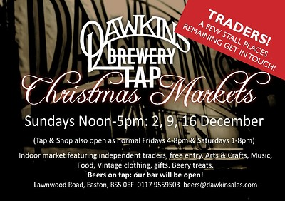 Christmas Market at Dawkins Brewery Tap in Bristol