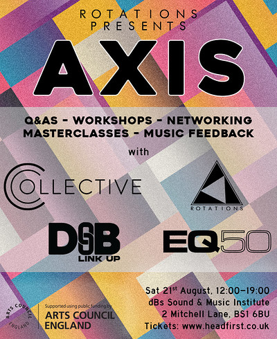 Rotations presents: AXIS at dBs Sound & Music Institute (2 Mitchell Lane) in Bristol