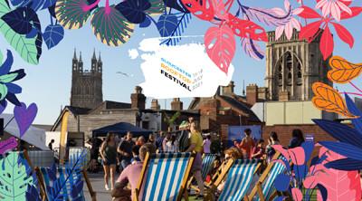Gloucester Rooftop Festival at Eastgate Car Park in Bristol
