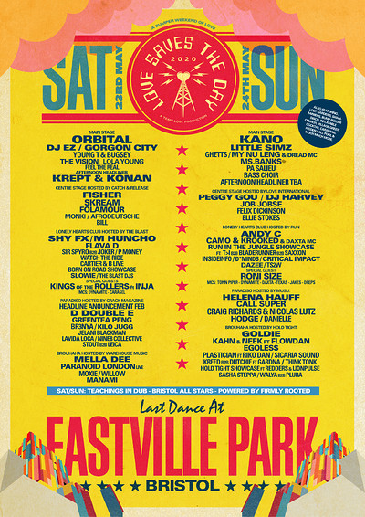Love Saves the Day Saturday at Eastville Park in Bristol