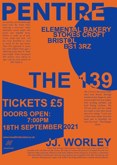 Pentire x The 139 x jj.worley at Elemental Bakery in Bristol