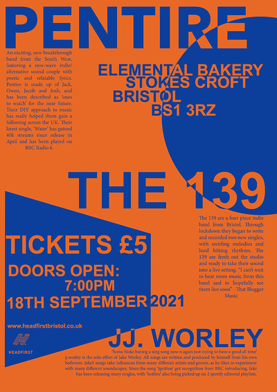Pentire x The 139 x jj.worley at Elemental Grocery in Bristol