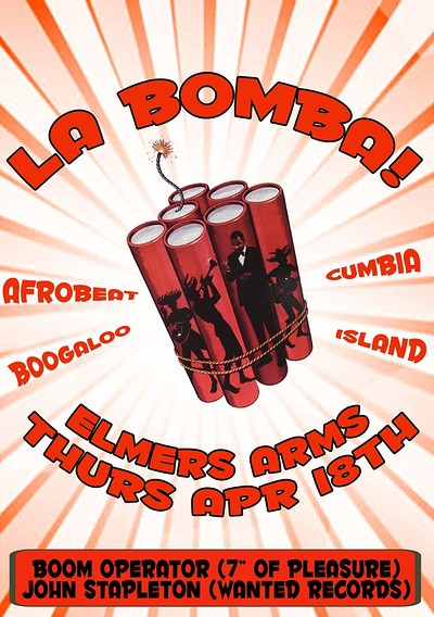 La Bomba! at Elmers Arms in Bristol