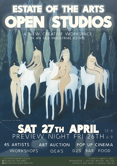 Open Studios Preview Night at Estate of the Arts in Bristol