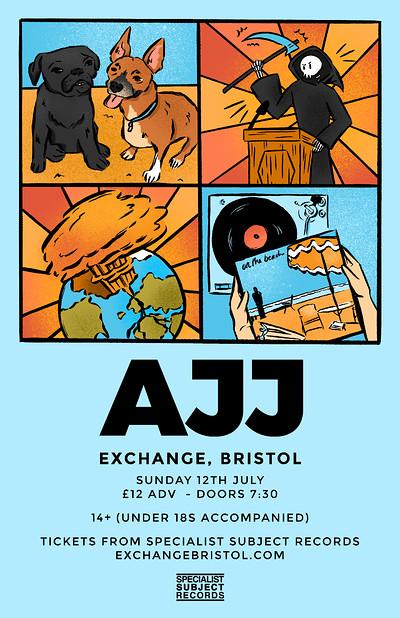 AJJ at Exchange in Bristol