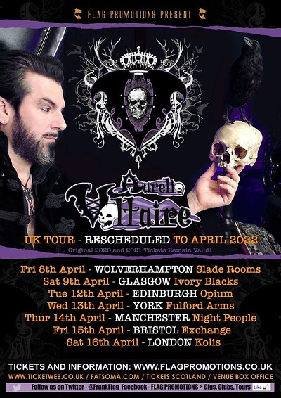 Aurelio Voltaire at Exchange in Bristol