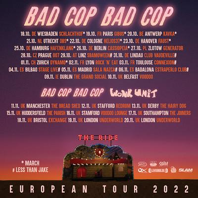 Bad Cop / Bad Cop at Exchange in Bristol