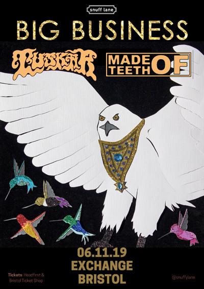 Big Business // Tuskar // Made of Teeth at Exchange in Bristol
