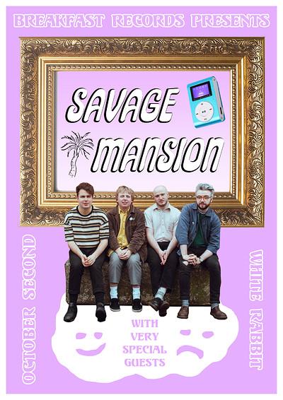 Breakfast Records presents: Savage Mansion at Exchange in Bristol
