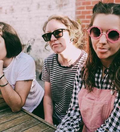 Camp Cope / Witching Waves at Exchange in Bristol