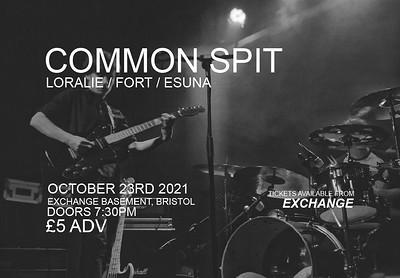 Common Spit at Exchange in Bristol