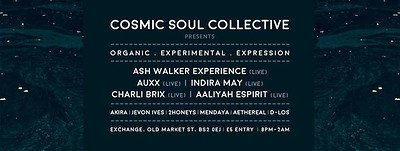 Cosmic Soul Collective at Exchange in Bristol
