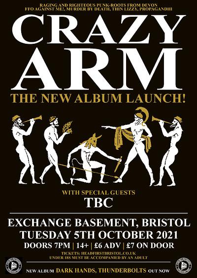 Crazy Arm at Exchange in Bristol