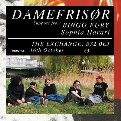 DAMEFRISØR Single Release Party at Exchange in Bristol