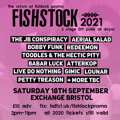 Fishstock 2021 at Exchange in Bristol