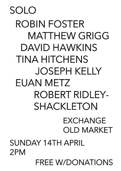 Foster, Grigg, Hawkins, Hitchens, Kelly, Metz, RRS at Exchange in Bristol