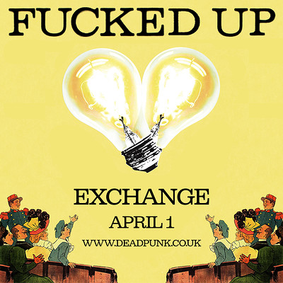 Fucked Up at Exchange in Bristol