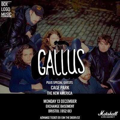 Gallus at Exchange in Bristol