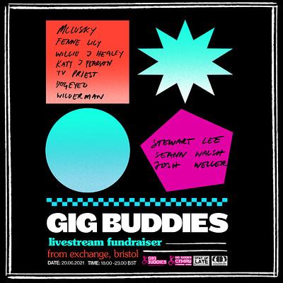 Gig Buddies Raffle Prize Show at Exchange in Bristol