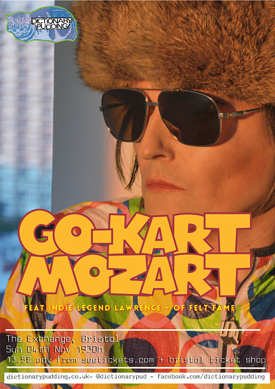 GO KART MOZART [ex-FELT/DENIM] at Exchange in Bristol