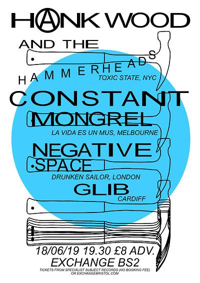 Hank Wood & the Hammerheads / Constant Mongrel  at Exchange in Bristol