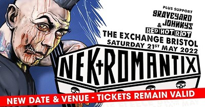Nekromantix at Exchange in Bristol