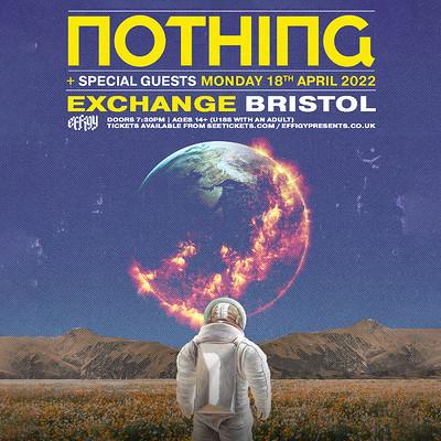 Nothing at Exchange in Bristol
