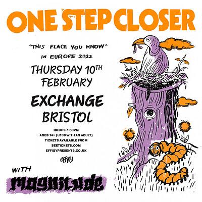 One Step Closer at Exchange in Bristol