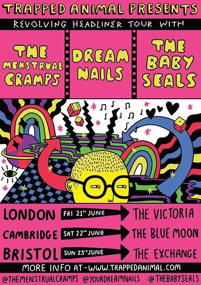 Punka: Dream Nails, Menstrual Cramps & Baby Seals at Exchange in Bristol