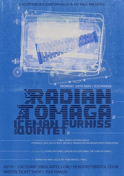 Radian, Tomaga & Iceman Furniss Quintet at Exchange in Bristol