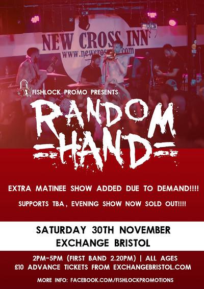 Random Hand at Exchange in Bristol