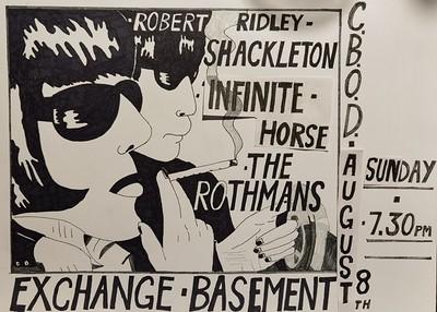 Robert Ridley Shackleton at Exchange in Bristol