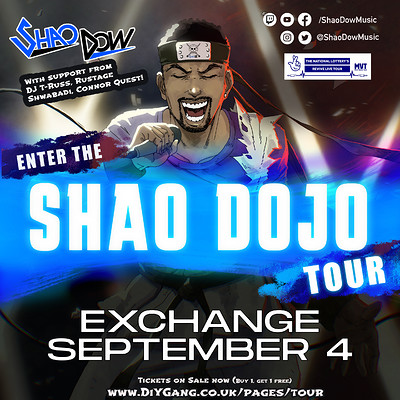 Shao Dow at Exchange in Bristol