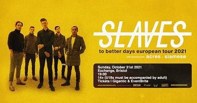 Slaves (US) at Exchange in Bristol