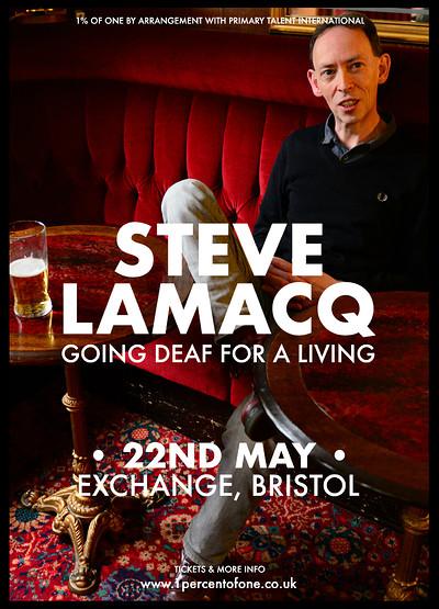 Steve Lamacq: Going Deaf For A Living at Exchange in Bristol