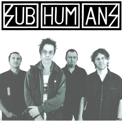 Subhumans at Exchange in Bristol