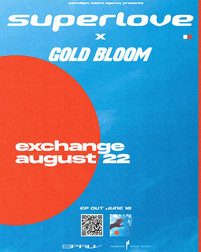 Superlove + Gold Bloom at Exchange in Bristol