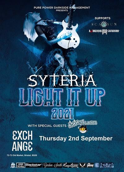 Syteria at Exchange in Bristol