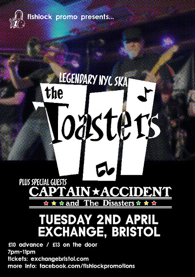 The Toasters / Captain Accident at Exchange in Bristol