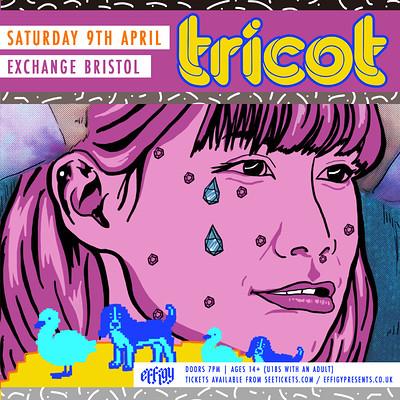 Tricot at Exchange in Bristol