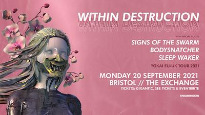Within Destruction at Exchange in Bristol