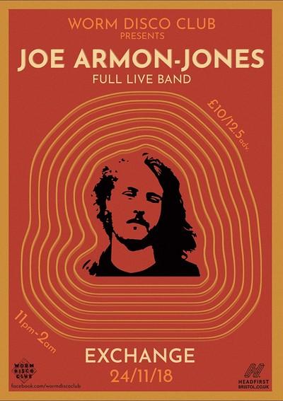 Worm Disco Club present; Joe Armon-Jones LIVE. at Exchange in Bristol