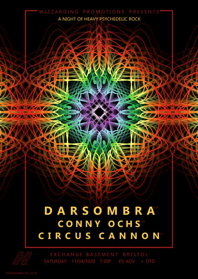 WP: darsombra · Conny Ochs · Circus Cannon at Exchange in Bristol