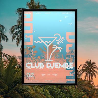 Club Djembe: Bamz, DJ Polo, Ngaio, DJ Stolen at Faraway Cocktail Club in Bristol