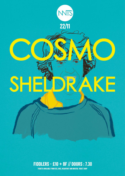 Cosmo Sheldrake + Support at Fiddlers in Bristol